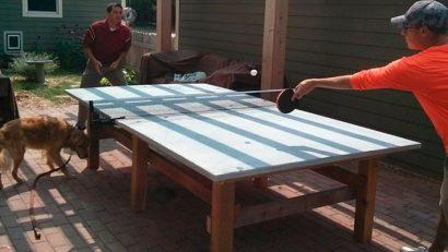 Permalink to:Cómo construir una mesa de ping pong de hormigón