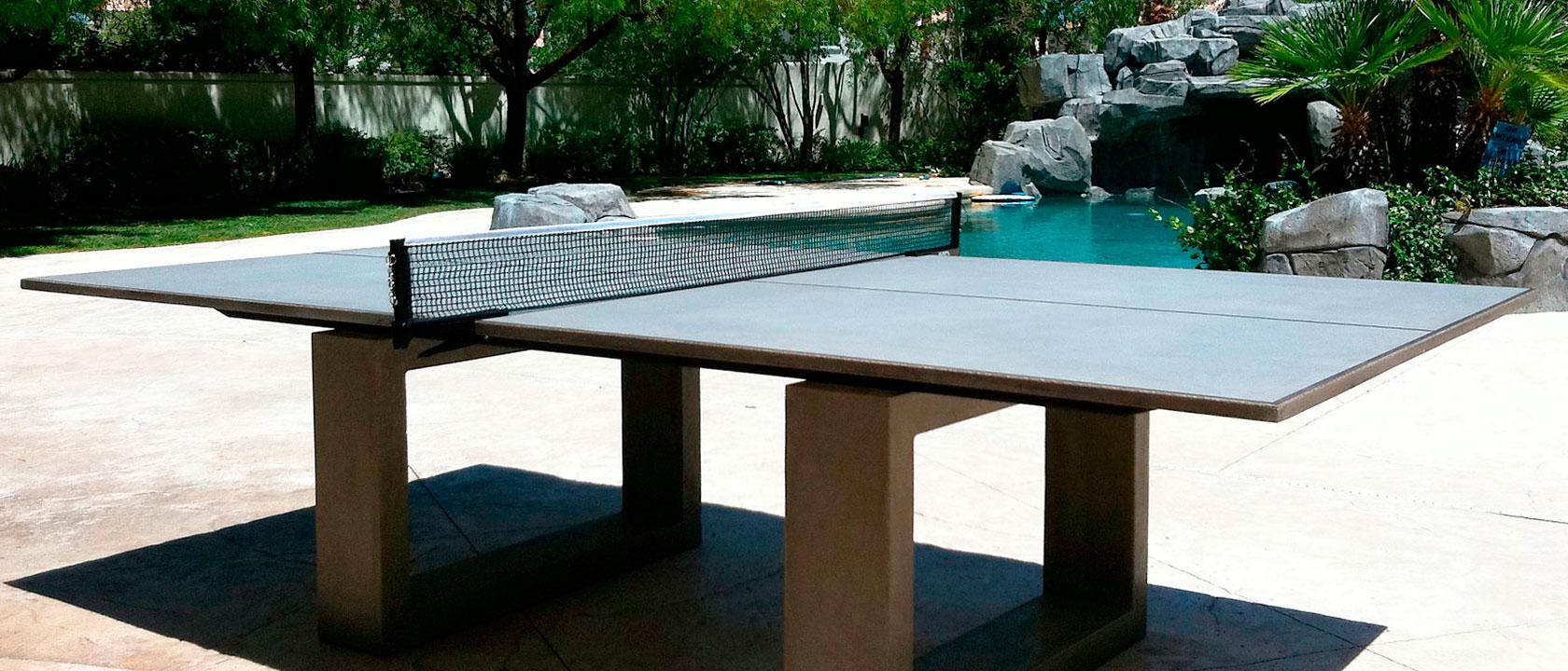 Mesas de ping pong de dise o hechas de hormig n mesas de for Mesa de ping pong milanuncios