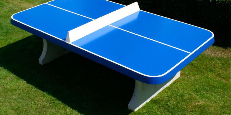 Qu pintura elegir para una mesa de ping pong mesas de for Mesa de ping pong exterior