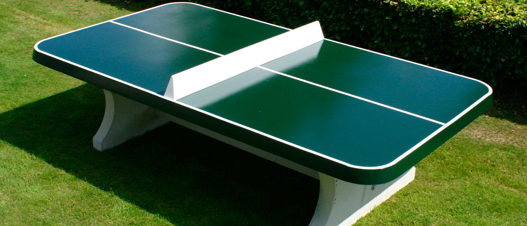 Qu pintura elegir para una mesa de ping pong mesas de ping pong de hormig n - Mesas de pinpon ...
