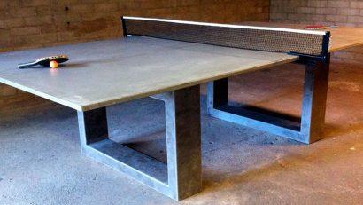 Mesas de ping pong de hormig n - Mesa de ping pong precio ...