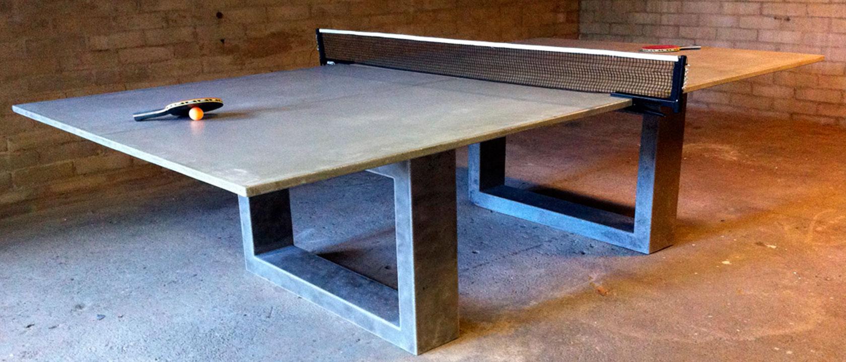 precio de una mesa de ping pong de hormig n mesas de