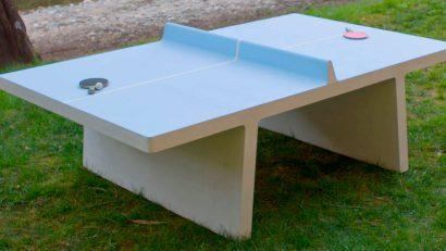 Permalink to:La mejor ubicación para una mesa de ping pong de hormigón